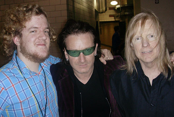 Mike, Larry, and Bono